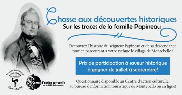 Chasse aux trésors Papineau